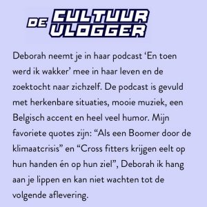 de cultuurvlogger